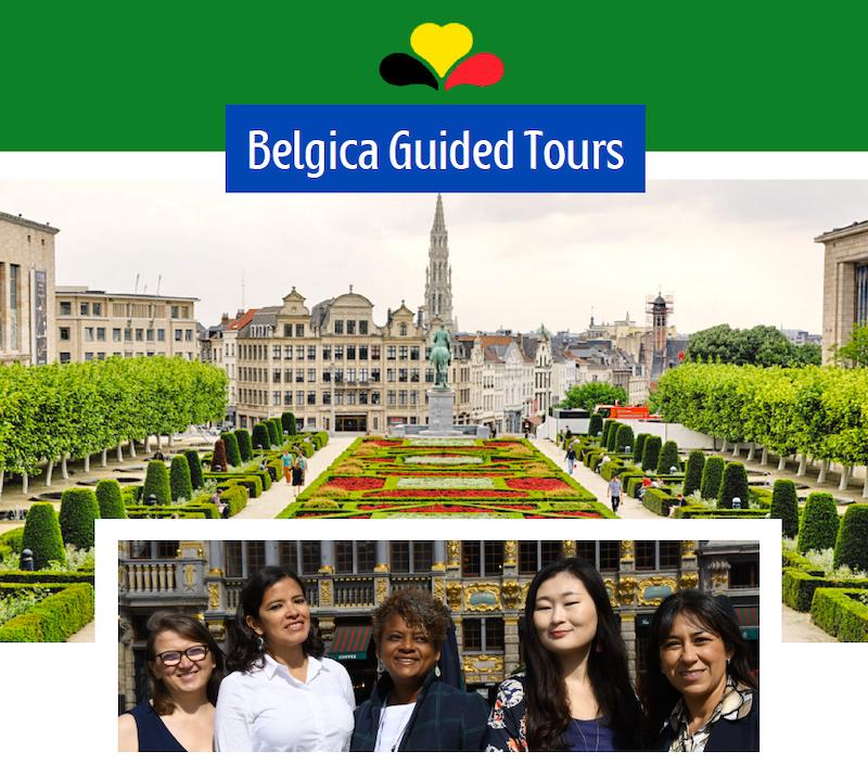 Visites guidées en français, néerlandais, portugais, italien, espagnol, russe et coréen