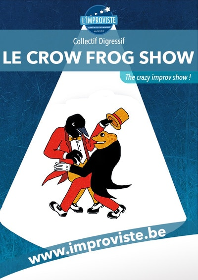 Le crow frog show