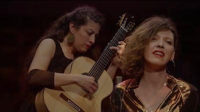 Sarah Théry et Gaëlle Solal