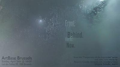 """Front. In. Behind. Here. Now."" Contemporary solo violin performance Dejana Sekulic, violin"
