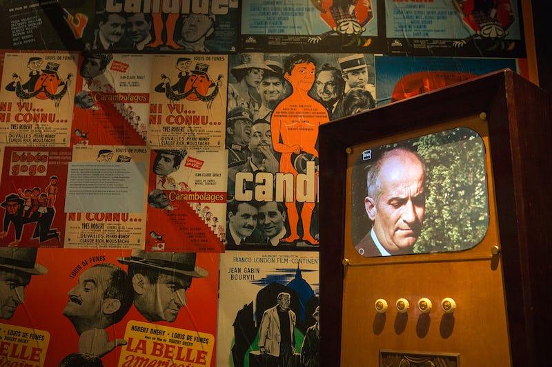 L'Exposition Louis de Funès ©Cinémathèque de Paris