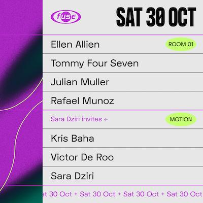 Fuse presents: Ellen Allien, Tommy Four Seven & Kris Baha