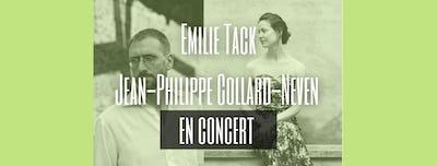 Emilie Tack et Jean-Philippe Collard-Neven