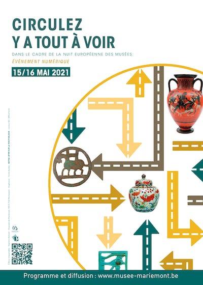 La Nuit européenne des musées 2021 « Event numérique – Circulez, il y a tout à voir »