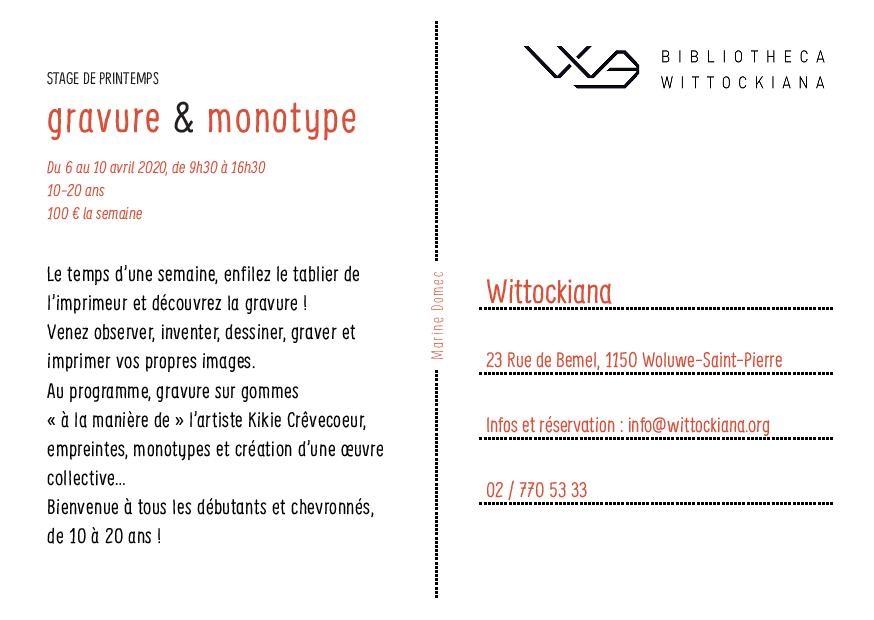 Gravure & Monotype