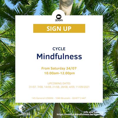 Mindfulness Cycle 8 weeks