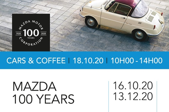Mazda 100 Years... in the spotlight