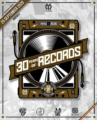 30 Years of Records (1990-2020) : The Belgian Hip-Hop Exhibition