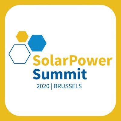SolarPower Summit 2020 - Solar powering the European Green Deal
