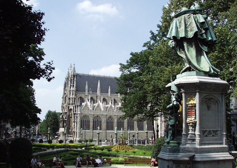 Brüssel zu Fuß um 10:00 Uhr Roger Van Buynder