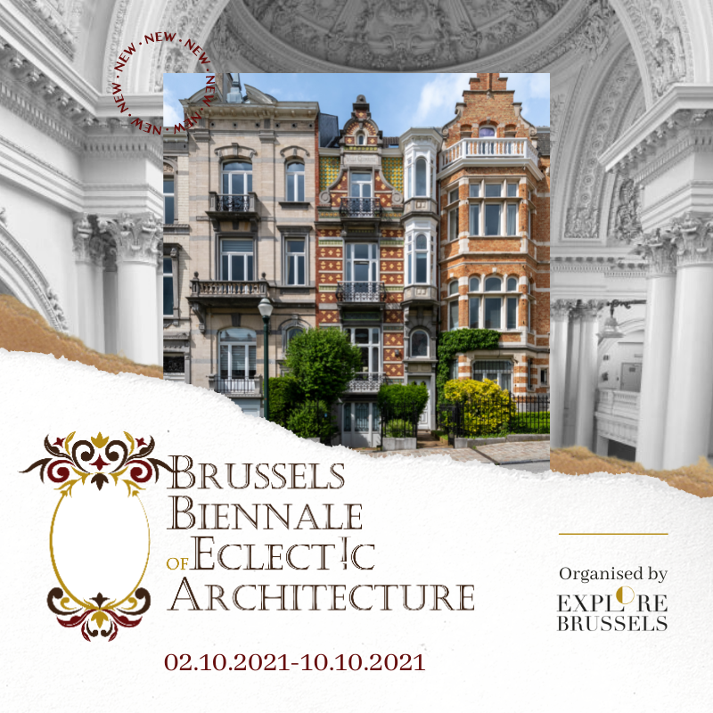 Brussels Biennal of Eclectic Architecture (BBEA) - Package Week 1 explore.brussels