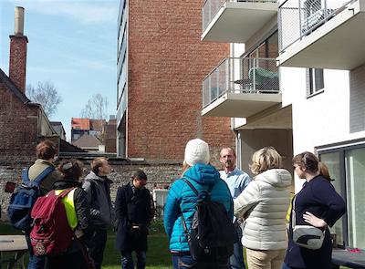 Fietstour: cohousing in Schaarbeek