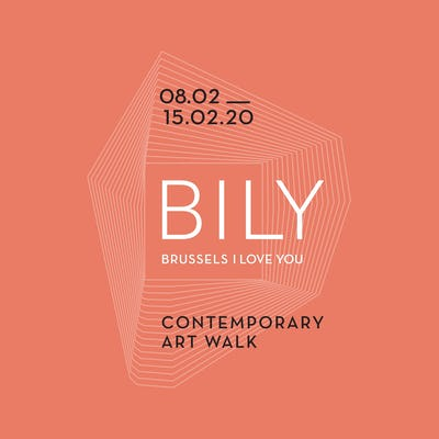 BILY Brussels I Love You: Contemporary Art Walk