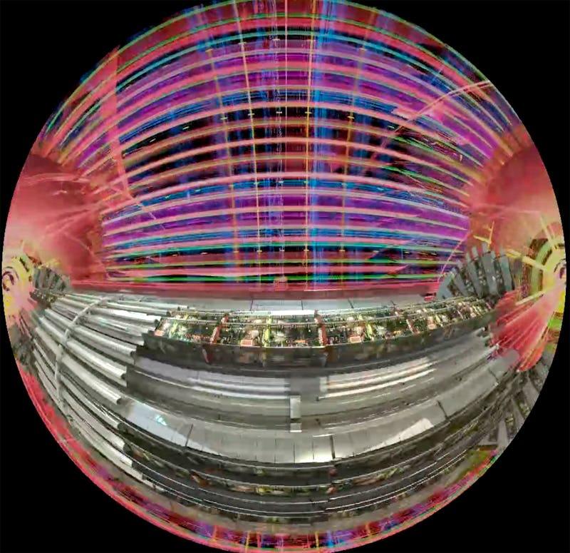 Fantôme de l'Univers Planetarium Brussels
