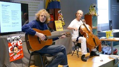 Rock à Gaston – hommage à André Franquin - violoncelle & guitare