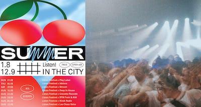 Listen! Festival présente: Summer in the City 2021