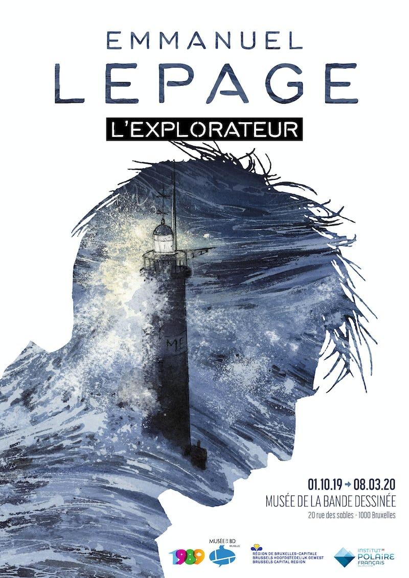 Emmanuel Lepage l'explorateur