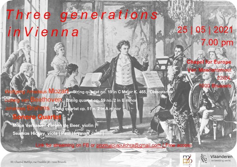 Three Generations in Vienna - Mozart, Beethoven, Brahms
