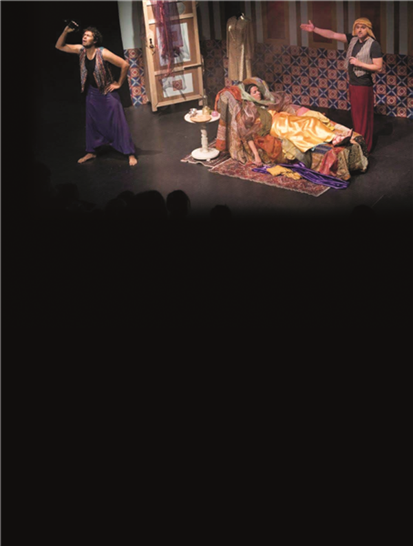 Abu Hassan,  muziektheater 4+