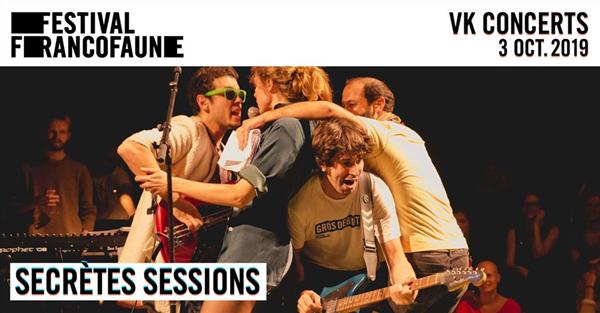 Secrètes Sessions | FrancoFaune 2019