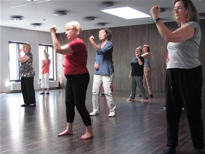Gym voor senioren / Gymnastique douce