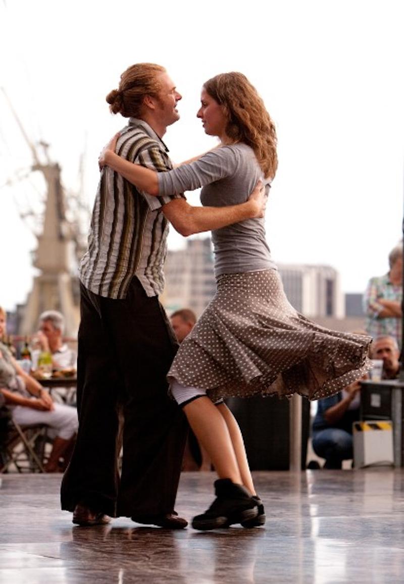 Folkdans niv 1