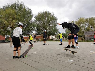 Skate en sportmix zomervakantie Nieuwland