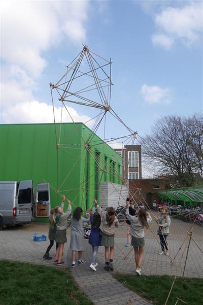 Bamboe atelier (buitenspeeldag) 10+