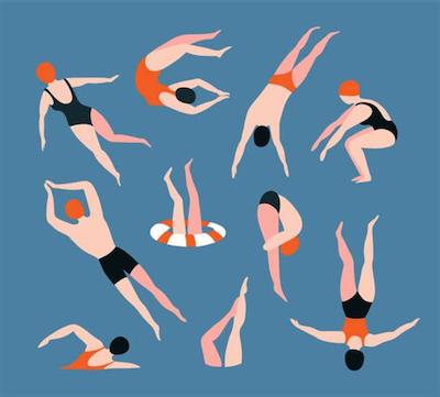 Zwem - en creaweek 1