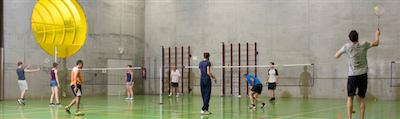 Badminton Koekelberg op donderdag