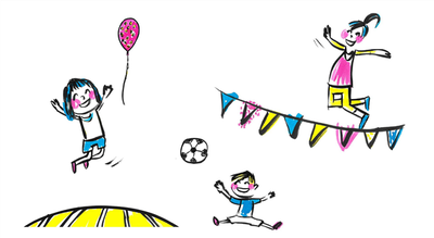 Sport en spelweek voor kleuters