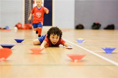Sport- en spelweek voor lagere schoolkinderen