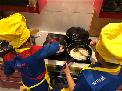 Creatieve speelweek 'Zomer in de keuken' (4e, 5e & 6e leerjaar)
