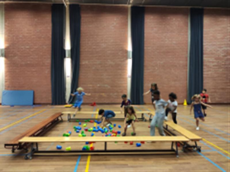Speelweek zomer: 'Mini-sportmix'