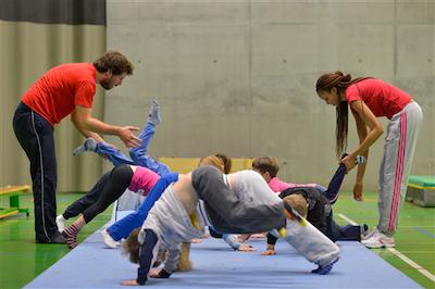 Sportacademie Campus Spoor West op woensdag