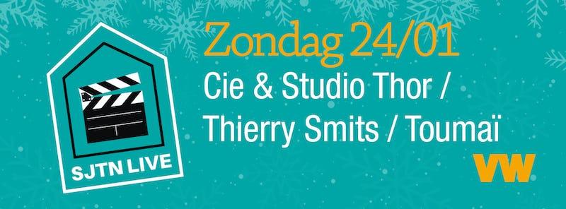 SJTN Live. Studio Thor / Thierry Smits met Toumai Gemeentebestuur Sint-Joost-ten-Node