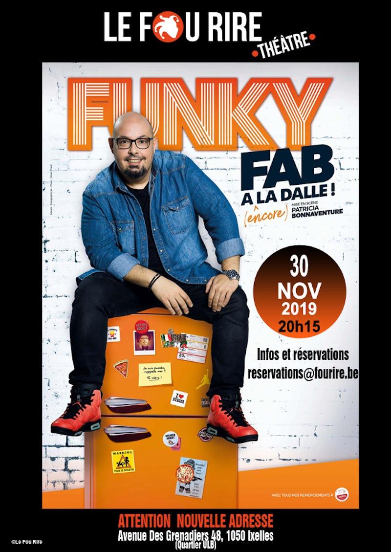 Funky Fab : A la dalle