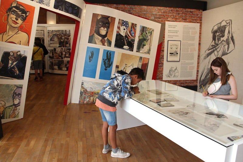 Juanjo Guarnido, secrets d'atelier d'un maestro Daniel Fouss / Comics Art Museum