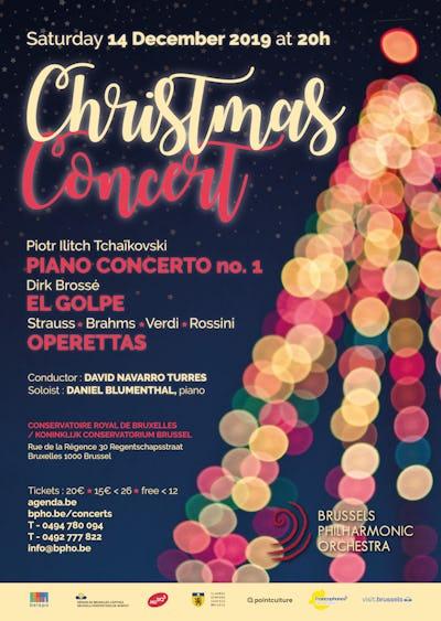 Grand Concert de Noël du Brussels Philharmonic Orchestra