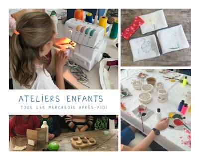 Ateliers créatifs enfant