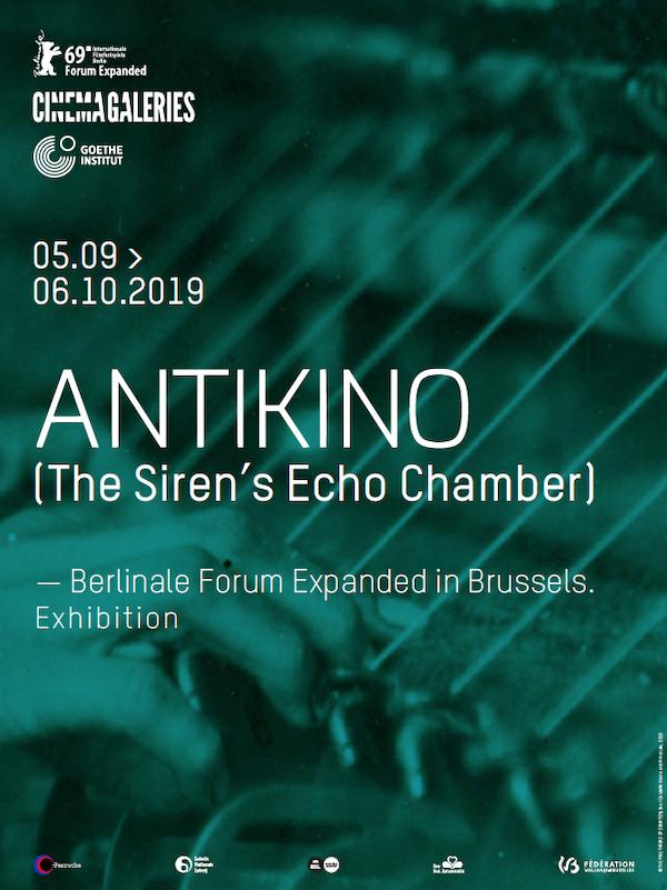 Antikino (The Siren's Echo Chamber) — Forum Expanded Exhibition