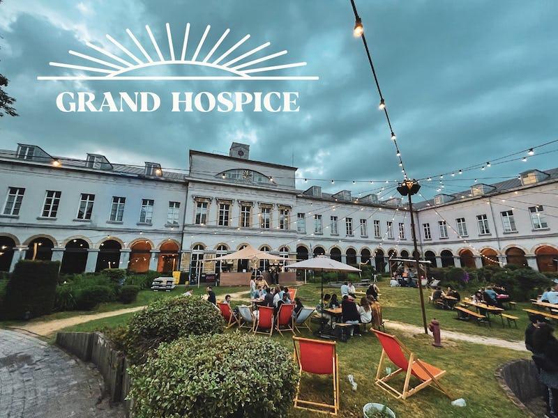 Grand Hospice x Jardin