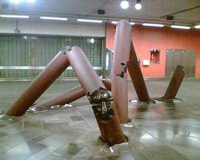 In Brussel gaat kunst ook ondergronds