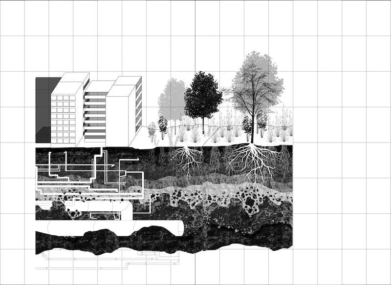 """Utopies réelles - Révoltes graphiques   Exposition Illustration : Elisabeth Leroy • Logotype """"Utopies réelles"""" : Aimée Pertel"""