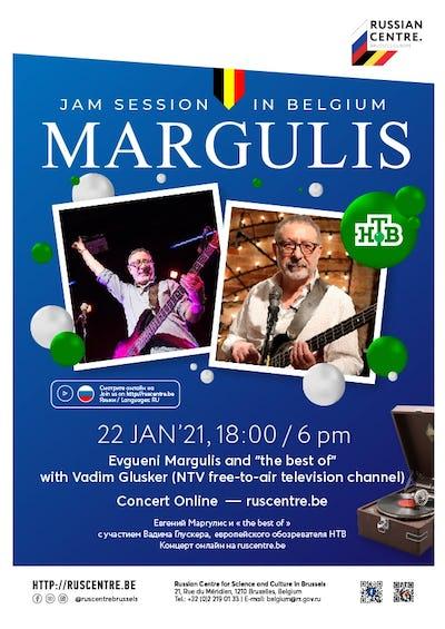 Margulis Jam Session en Belgique