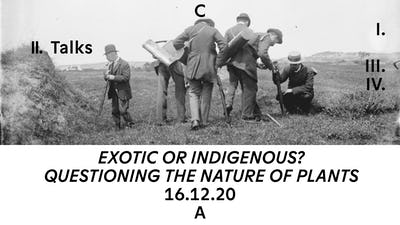 Exotic or indigenous? Questioning the nature of plants