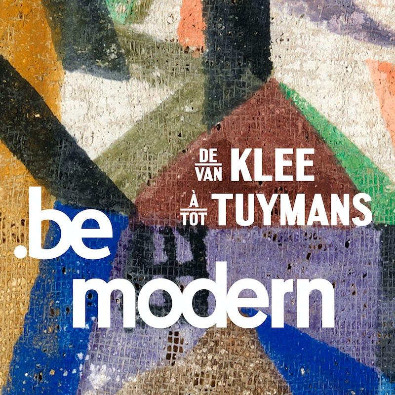 "Be Modern Paul Klee, ""Mit dem Kometen"" (1917) | © RMFAB, Brussels"