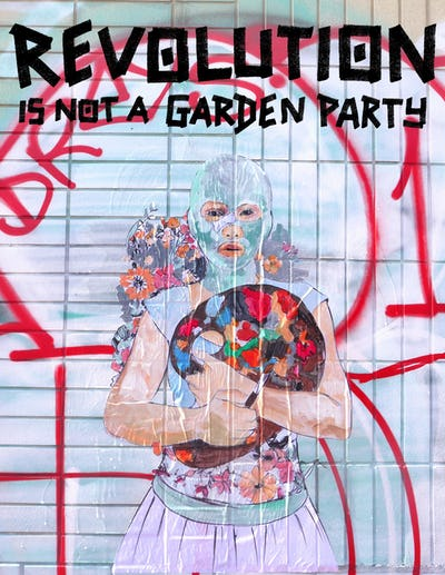 Revolution is not a Garden Party. 1989: Artists, activists, and social change