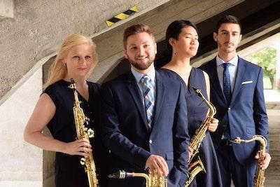 'Vagues': Ensemble du Bout du Monde- Modern Saxophone Quartet