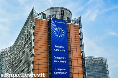 #BruxellesRevit - Bruxelles, capitale d'Europe